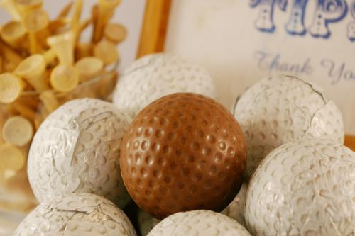 Chocolate Golf Balls