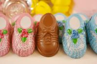 Chocolate Baby Booties