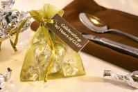 Chocolate Truffle Organza Bag